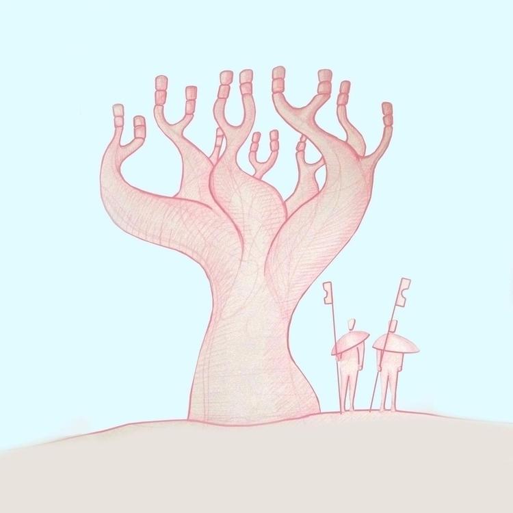 Marshmallow tree, 2016 Gautier  - gautierberthoumieux | ello