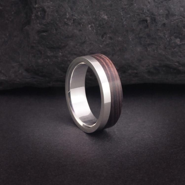 Wooden rings wedding bands. woo - adamballester   ello