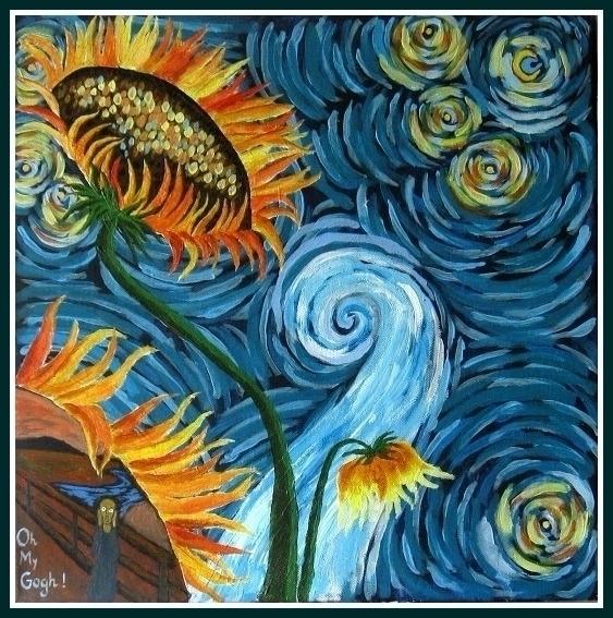 Gogh. (acrylic fantasy - balints | ello