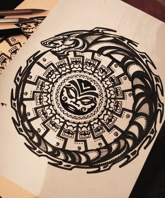 Sun - tattooDesignConcept - astrabee   ello