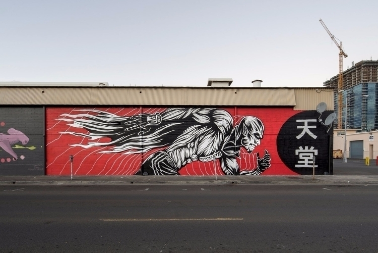 illustration, street, powwowhawaii - jamesjirat | ello