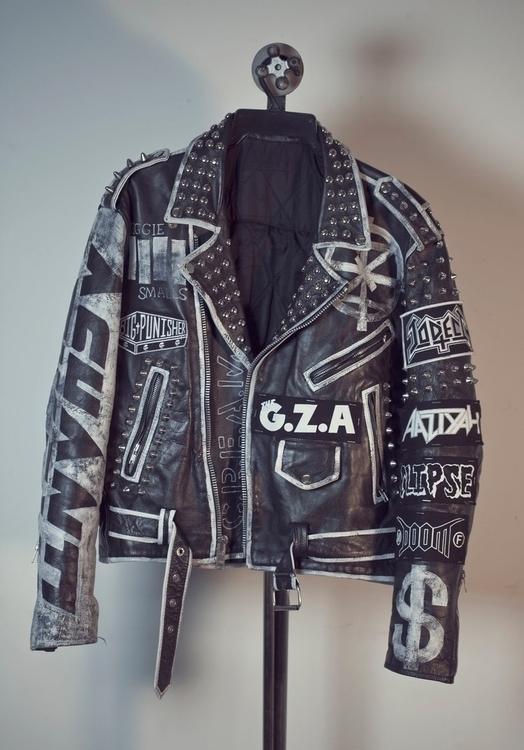 leather, biker, jacket, punk - jamesjirat | ello