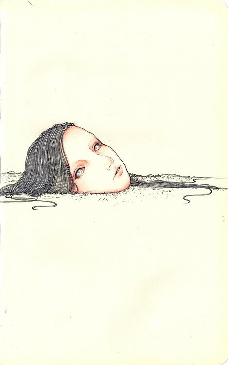 Buried - andisoto, moleskine - andimacka | ello