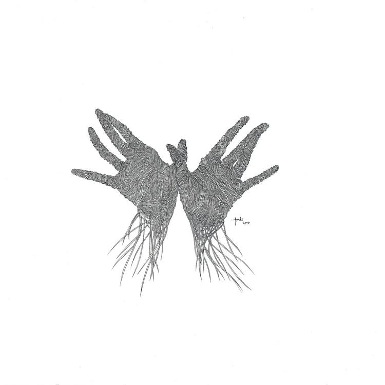 Hands - andisoto, illustrator - andimacka   ello