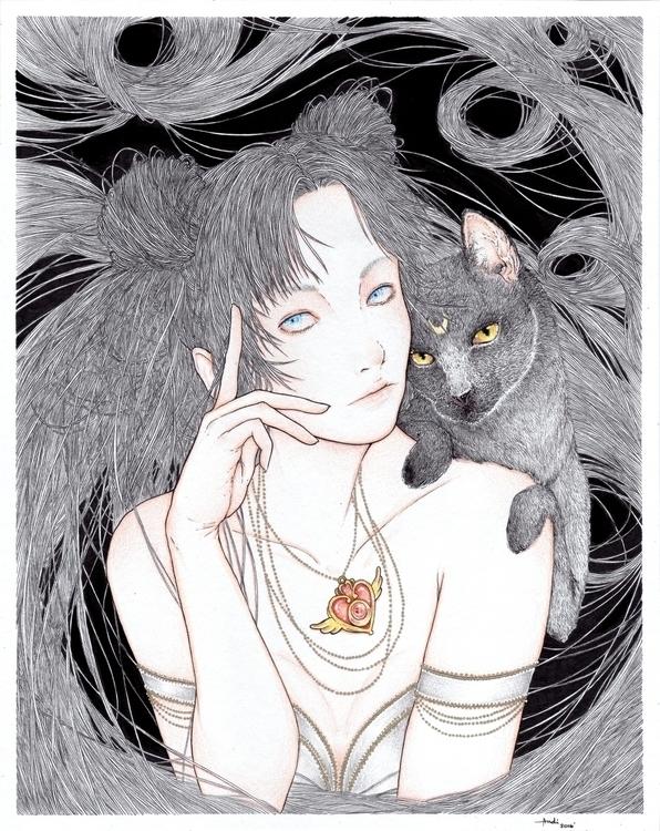 Usagi Luna Inspired Sailor Moon - andimacka | ello