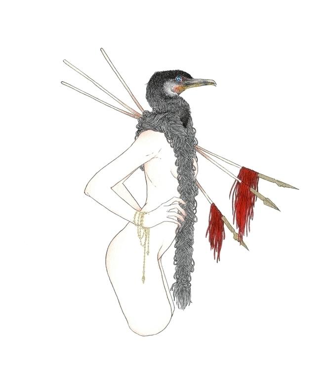 Common Cormorant - andisoto, illustrator - andimacka | ello