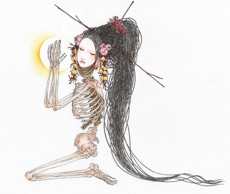 Pray - andisoto, illustrator - andimacka   ello