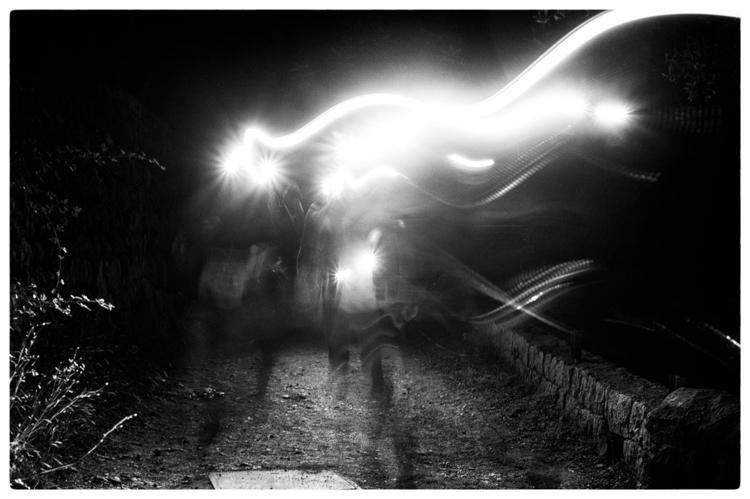 GHOST RUNNERS | run. night. hou - delafoi | ello