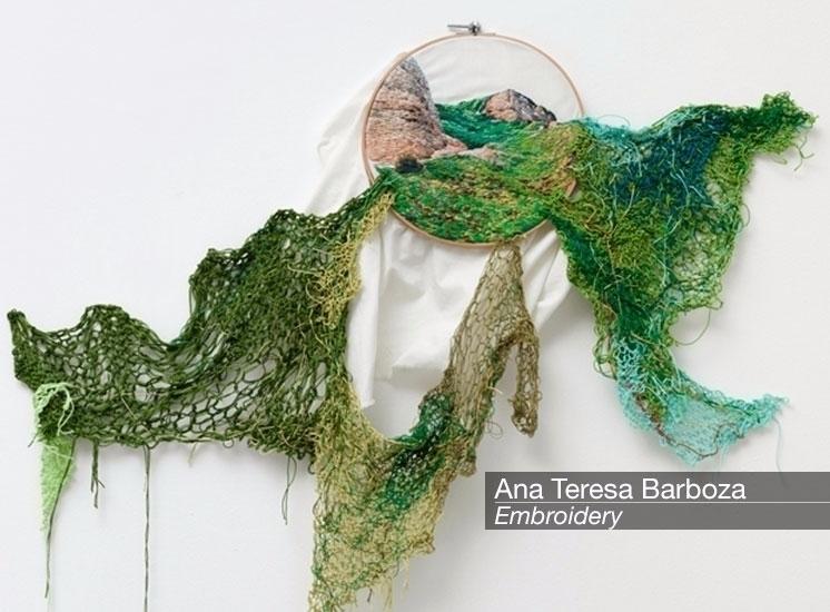 Discover Textile Art Ana Teresa - velvetandpurple | ello