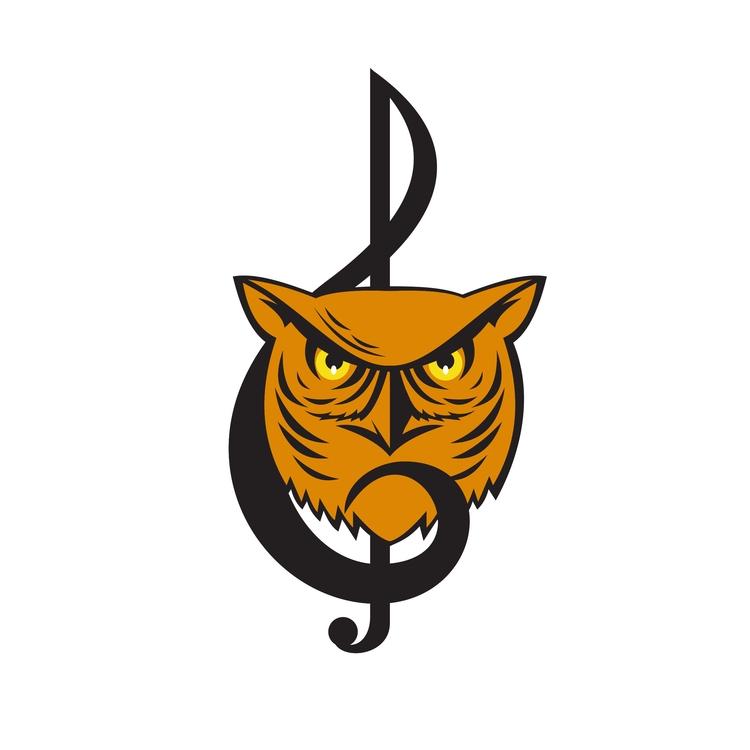 Great Head - Horned, Owl, Musical - patrimonio | ello