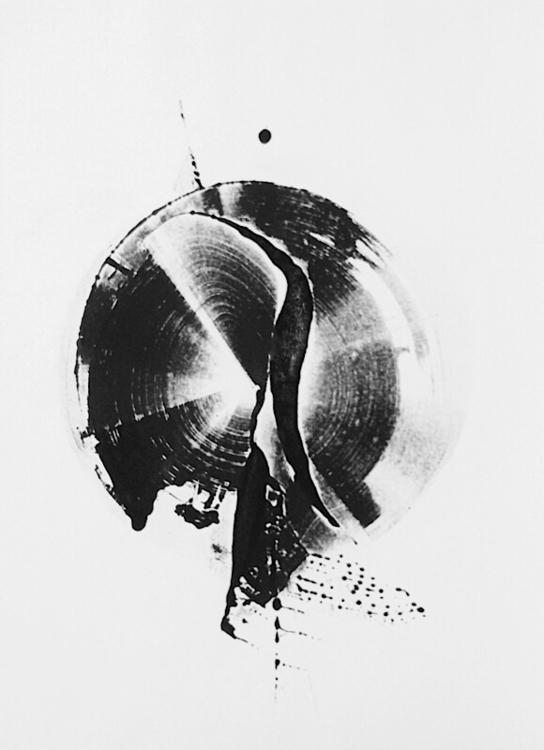 art, monotype, blackandwhite - mlui | ello
