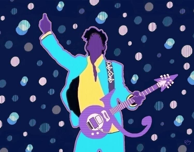 Prince RIP - art, paint, rjaypaints - rjayslais   ello