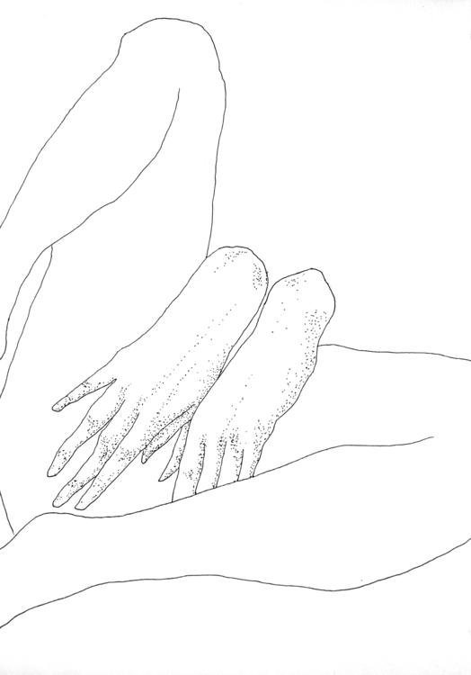 Hands Thighs, 2017 - juliaromana - juliaromana | ello