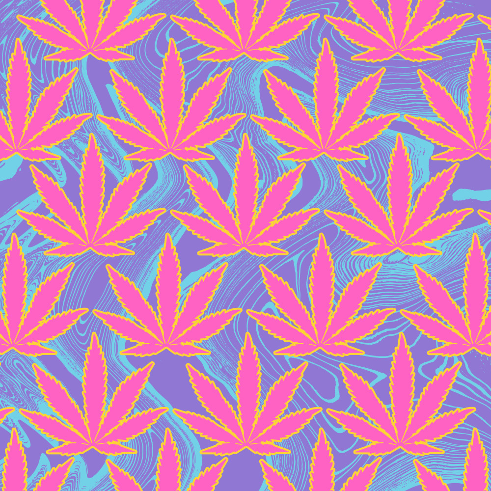Happy 420 baby angels - illustration - xeezles | ello