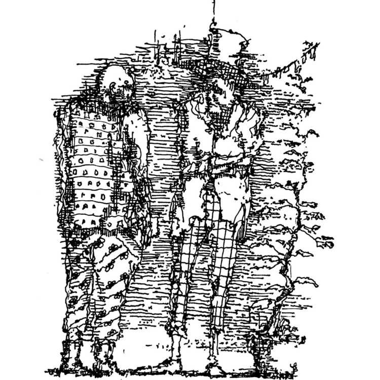 sisyphos, club, illustration - nikolozle | ello