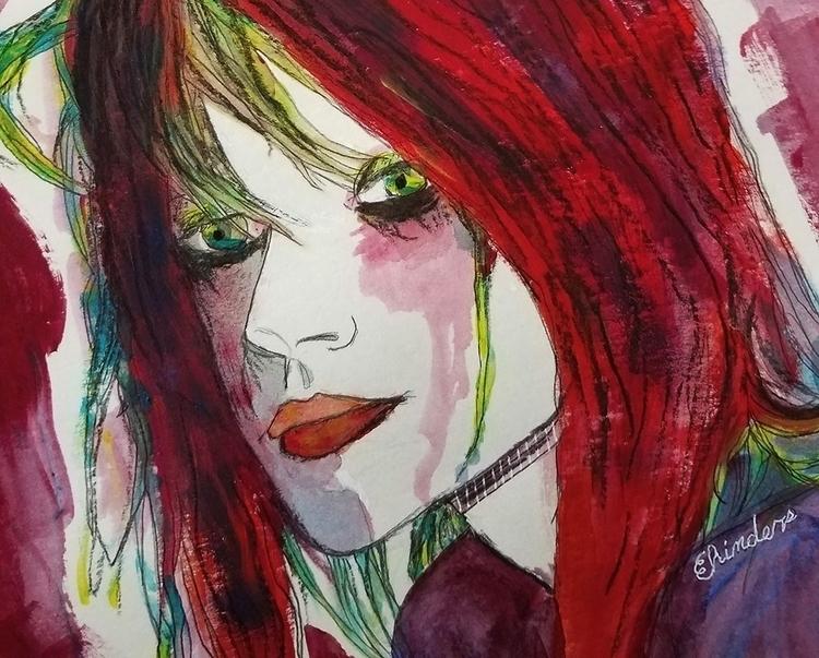 art, elloart, illustration, painting - andaelentari | ello