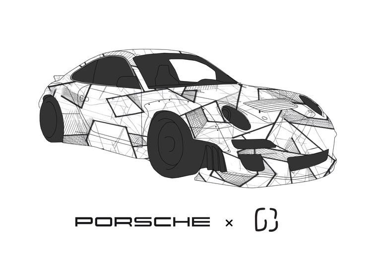 Porsche custom, 2017 Gautier Be - gautierberthoumieux | ello