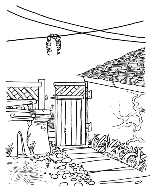 slinky hangs house - willdinski | ello