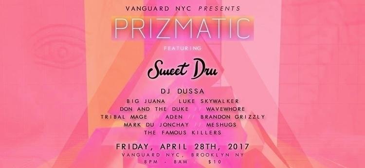 Vanguard NYC presents PRIZMATIC - wavewhore | ello