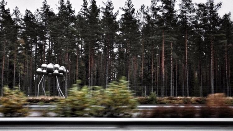 highway art woods /sweden - bang1000 | ello