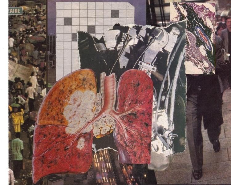 collage, analog - lacaradenadie   ello