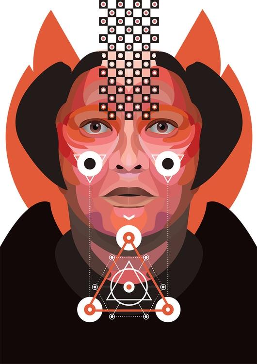 Flame - michalmacko, illustration - artrovert   ello