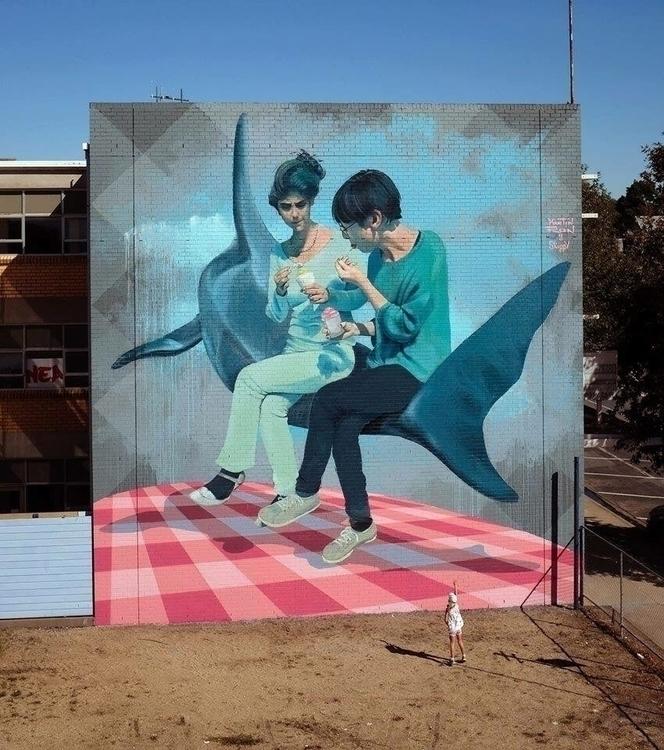 Artist: Martin Ron Wall festiva - streetartunitedstates | ello