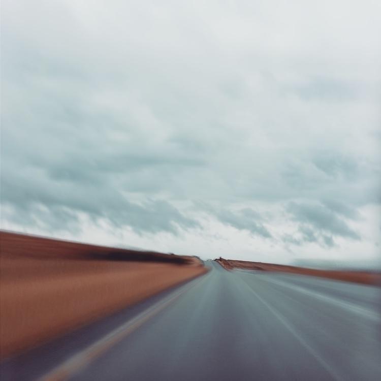 Road Rain - shot iPhone 5 edite - lioneldp | ello