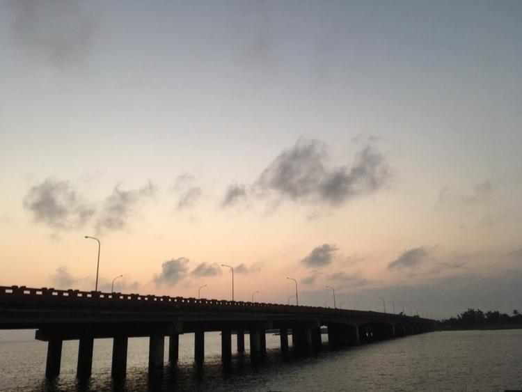 sunset, taiwan - endding   ello