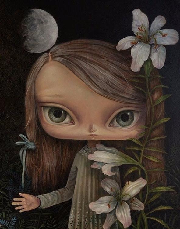 Quarter Moon Moonlight stories  - paulee1 | ello