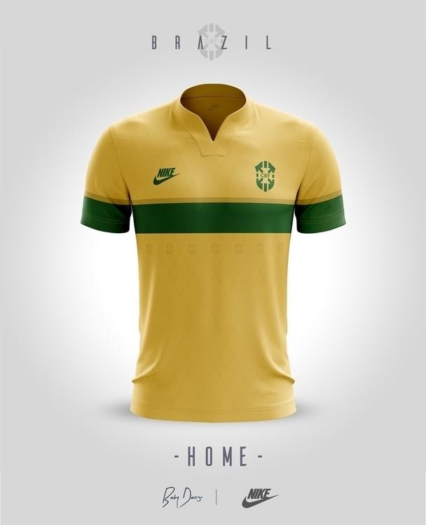 BRAZIL - Jerseys /Concept home - cosminbecheanu | ello