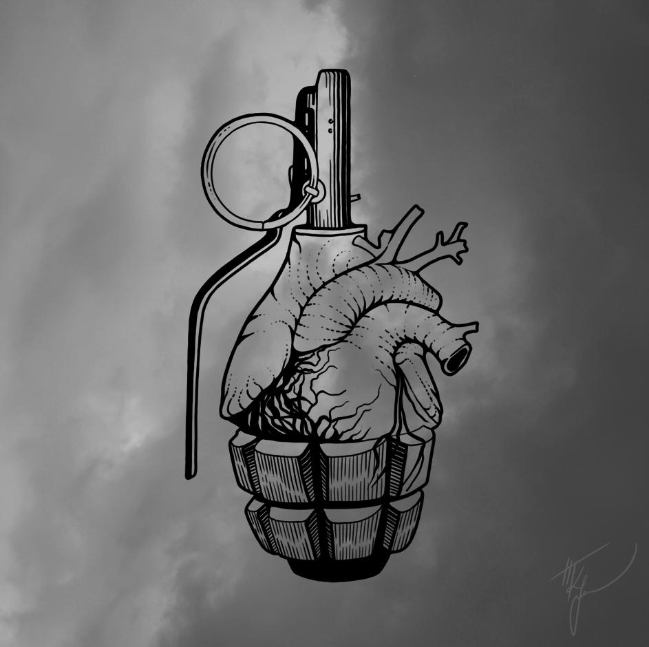 Resist Symbolic combination pea - tais_graphics   ello