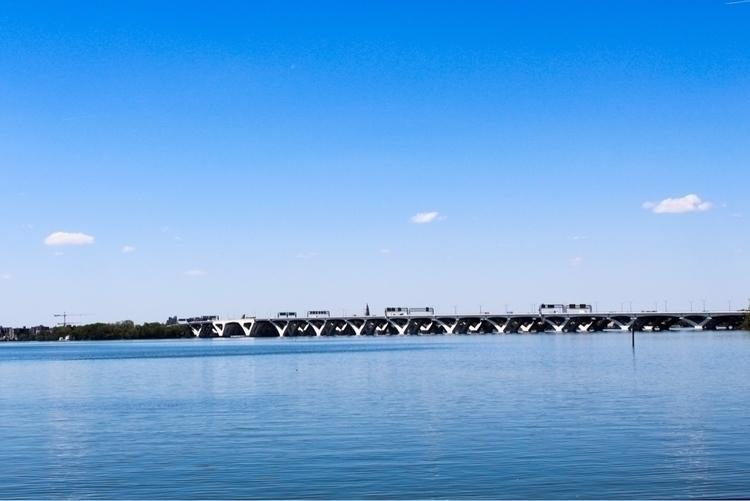 Woodrow Wilson bridge - minimalism - gpinkney | ello
