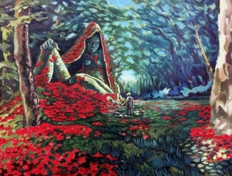 painting ROSEHEAD Seth Gorden.  - kseniaanske | ello