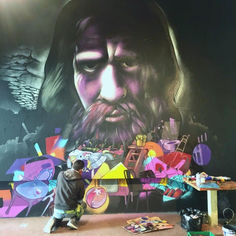 project mural Holala Plaza, bar - mejuan | ello