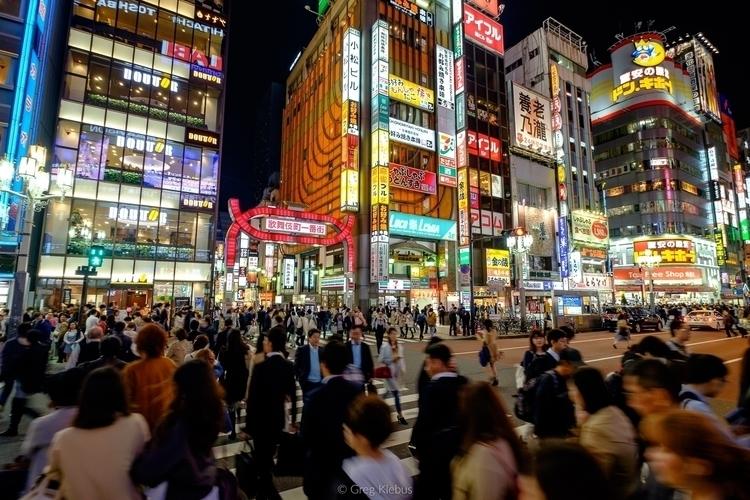 Green Light Shinjuku, Tokyo, Ja - gklebus | ello