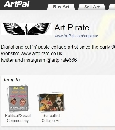 Artpal store - artpirate | ello