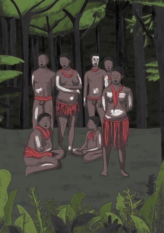 Jarawa tribe Andaman Islands. c - skiimo | ello
