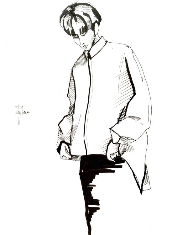 sketch, skething, illustraition - jbyjane | ello