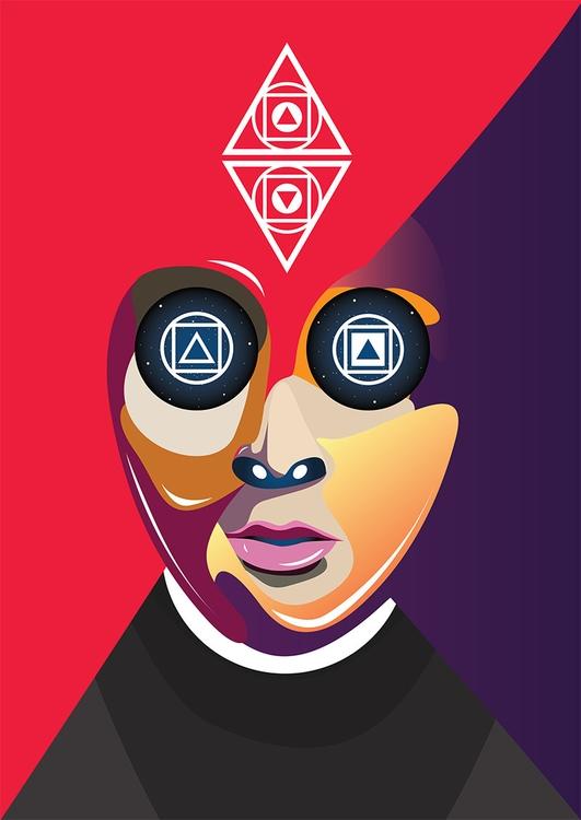 Faceless - michalmacko, illustration - artrovert   ello
