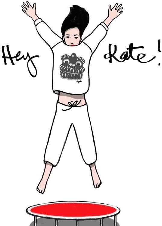 kate la mode - hey, jump, fashion - ayses | ello