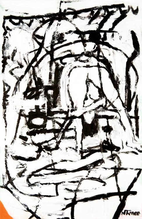 Chez Nina Place) Oil paper 1954 - nealturner | ello