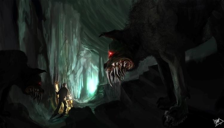 Titel: Lair Black Dog - horror, depression - ropechild | ello