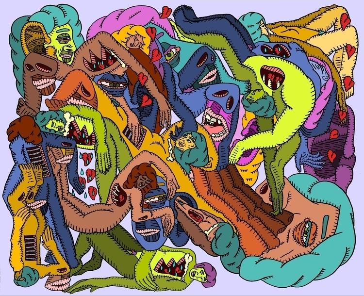 psychodelic, surrealism, popart - au_haus | ello