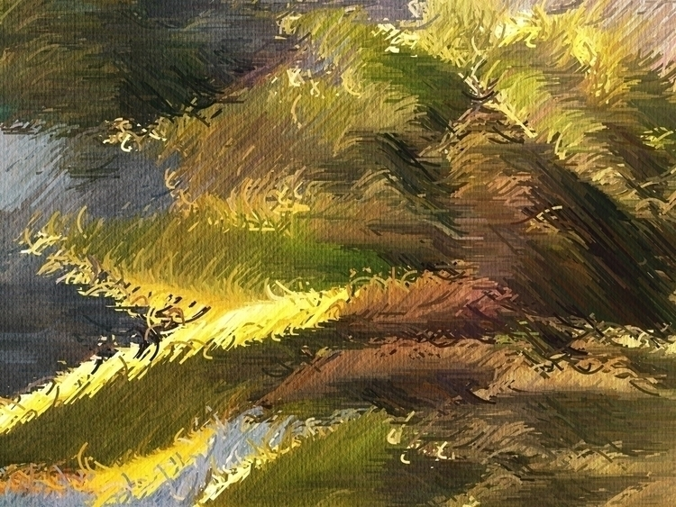 Feather Light Palms Afternoon S - mikefl99   ello