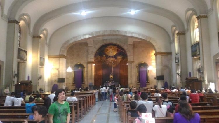 holy week. santa cruz church ma - mongpalatino | ello