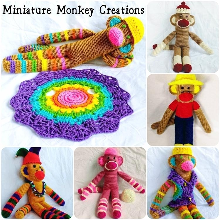 Happy hope shiny monkey shop we - miniaturemonkeycreations | ello