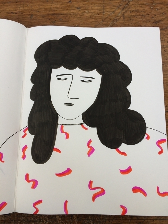 Side Eye - illustration, girl, attitude - mitsubishiufjfinancial | ello