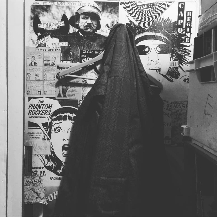 record store - flyer, poster, blackandwhite - randpop | ello