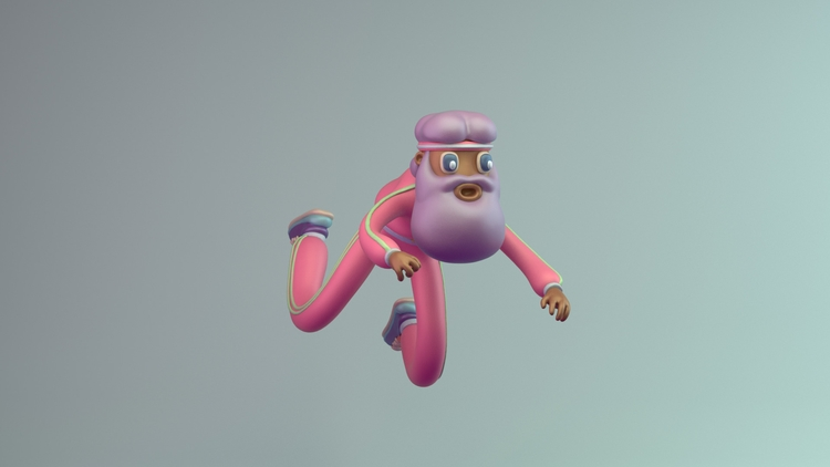 harder - 3d, 3dmodel, characterdesign - renegadesofphong | ello